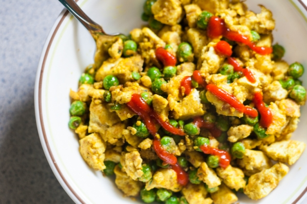 Basic Tofu Scramble