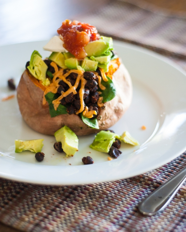 Vegan Gluten-Free Southwest Baked Potato