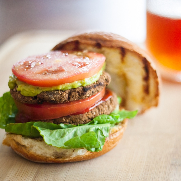 Vegan Gluten-Free Black Bean Burger